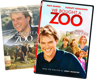 We Bought a Zoo DVD and Book
