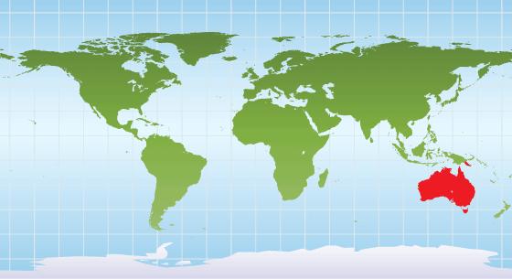 Echidna Range Map